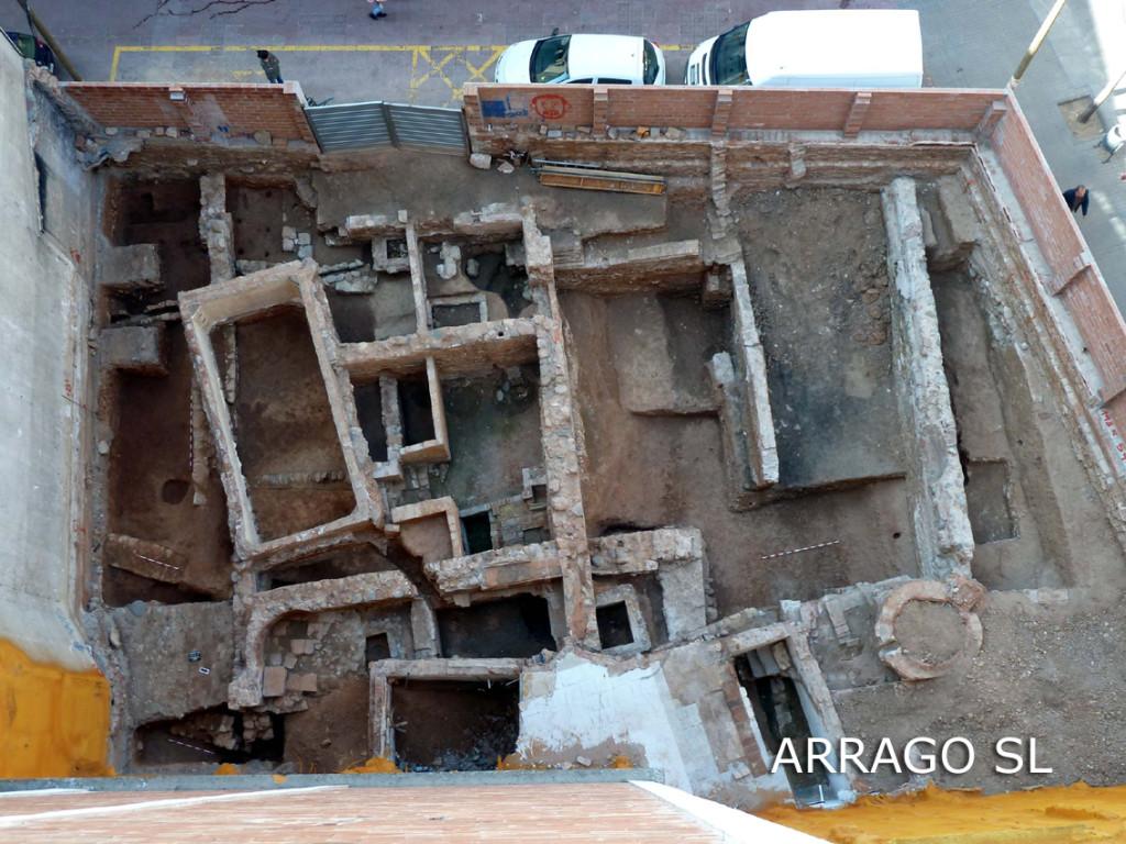 Excavació C/ Les Valls, 11 (Sabadell, Vallès Occ.)